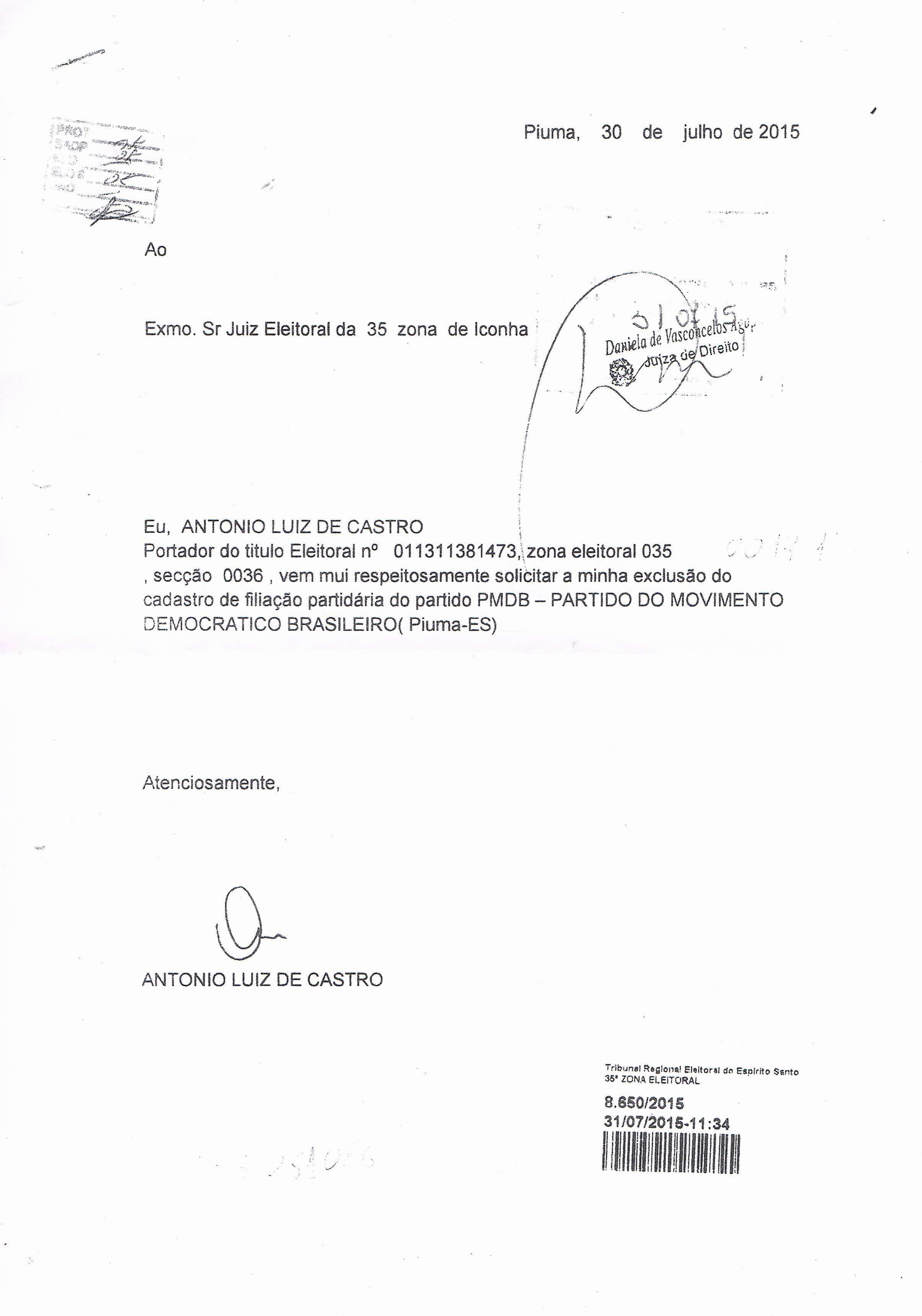 Desfiliações Do Pmdb De Piúma Viram Caso De Polícia Jornal